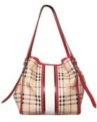 Burberry Small Canterbury Check Shoulder Bag - Lyst