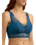 ModCloth Bold Hollywood Full-coverage Bra in Gilded Sapphire - Lyst