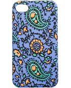 J.Crew Printed Iphone 4 Case - Lyst