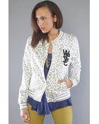 Wesc The Laika Fleece Jacket in White - Lyst