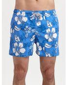 Gant Rugger Floral Swim Trunks - Lyst