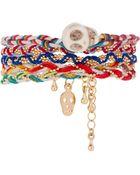 ASOS Collection Asos Retro Skulls Friendship Bracelet Pack - Lyst
