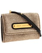 Juicy Couture Simply Stardust Trifold Card Case - Lyst
