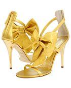 Giuseppe Zanotti Yellow Sandals - Lyst