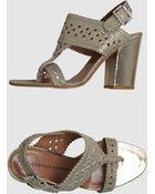 Sigerson Morrison High Heeled Sandals - Lyst