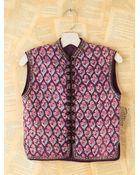 Free People Vintage Floral Quilted Vest - Lyst