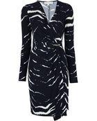 Michael Kors Wrap Dress - Lyst