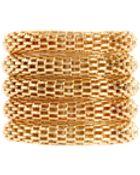 Asos Asos Box Knot Multi Band Rings - Lyst