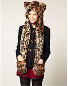 Spirit Hoods Leopard Hood - Lyst