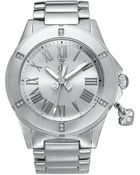 Juicy Couture Womens Rich Girl Stainless Steel Bracelet 41mm - Lyst