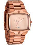 Nixon The Player Bracelet Watch - Lyst