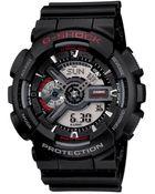 G-Shock Mens Analog Digital Xl Black Resin Strap Watch - Lyst