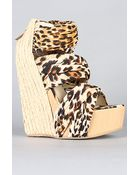 Senso Diffusion The Saba Shoe in Leopard - Lyst