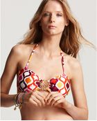 Trina Turk Ogee Buckle Front Bandeau Top - Lyst