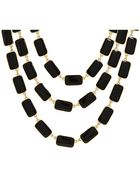 Kate Spade Park Guell 3 Row Bib Necklace - Lyst