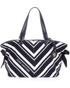 Juicy Couture Bella Terry Tote Regalwhite - Lyst