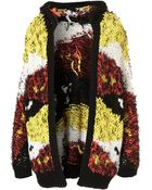 Topshop Knitted Native Festival Cardi - Lyst