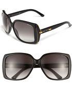 Jimmy Choo Classic Sunglasses - Lyst