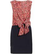 Jaeger Sleeveless Dress - Lyst
