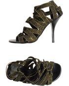 Acrobats Of God High-Heeled Sandals - Lyst