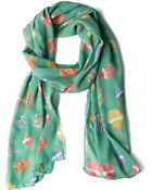 ModCloth Peace Of Cake Scarf - Lyst