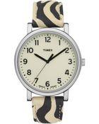 Timex® Originals Easy Reader Zebra - Lyst
