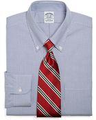 Brooks Brothers Regent Fit Stripe Dress Shirt - Lyst