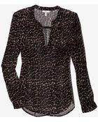 Joie Adana Leopard Print Blouse - Lyst