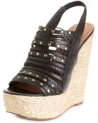 Steve Madden Breannaa Platform Wedge Sandals - Lyst