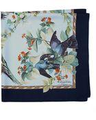 Brooks Brothers Audubon Dove Silk Scarf - Lyst