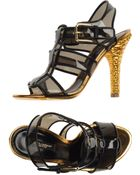 Dolce & Gabbana High-heeled Sandals - Lyst