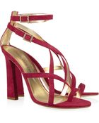 DSquared2 Suede Sandals - Lyst