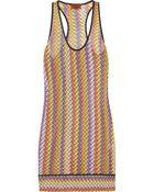 Missoni Crochet-knit Beach Dress - Lyst