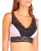 ModCloth Bold Hollywood Full Coverage Bra in Gilded Hyacinth - Lyst