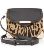 Alexander Wang Marion Animal Print Calf Hair and Leather Shoulder Bag - Lyst