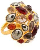 Alexis Bittar Siyabona Domed Cluster Ring - Lyst