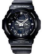 G-Shock Men'S Analog Digital Black Resin Strap Watch 55Mm Ga150-1A - Lyst