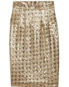Paul & Joe Sagrada Sequined Pencil Skirt - Lyst