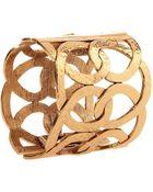 Oscar de la Renta Linked Loop Cuff Bracelet - Lyst