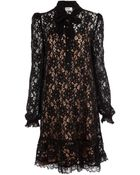 Alice By Temperley Mini Kitty Dress - Lyst