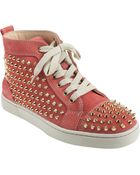 Christian Louboutin Louis Spikes - Lyst