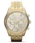 Michael Kors Lexington Watch, 45Mm - Lyst