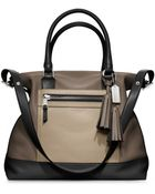 Coach Legacy Colorblock Leather Rory Satchel - Lyst