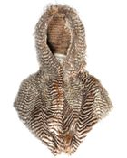 Spirit Hoods Night Hawk Shawl Amazon Knit - Lyst