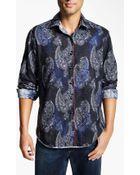 Robert Graham Tahoe Sport Shirt - Lyst