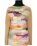 Chloé Chunkyknit Cashmere and Woolblend Sweater - Lyst