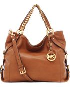 MICHAEL Michael Kors Tristan Large Shoulder Tote Bag - Lyst