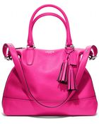 Coach Legacy Leather Rory Satchel - Lyst