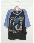 Free People Vintage The Police Synchronocity Tee - Lyst