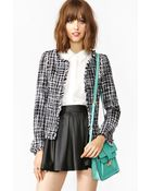 Nasty Gal Studded Tweed Jacket - Lyst